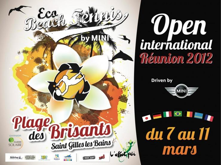 Affiche Eco Beach Tennis 2012