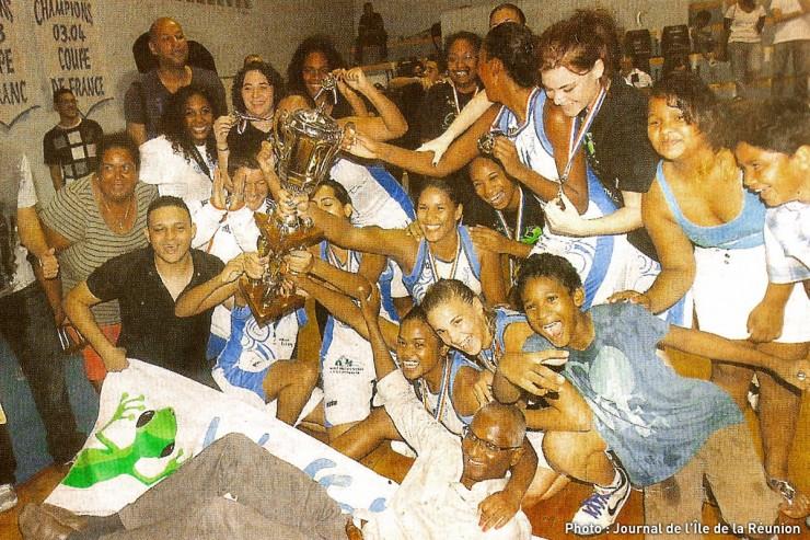Championne de la Réunion Volley