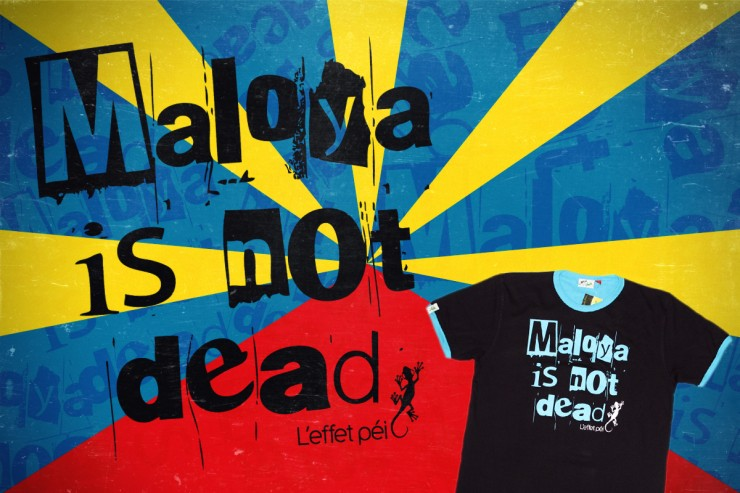 Tee-shirt Maloya is not dead !