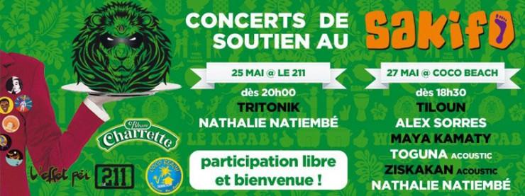 Soutien Sakifo Concerts