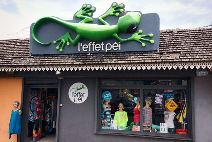 Boutique L'effet Péi Saint-Gilles - île de la Réunion