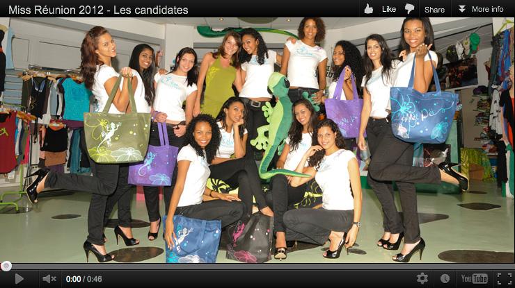 Vidéo Miss Réunion 2012