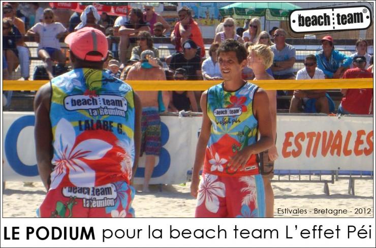 Beach Team La Réunion L'effet Péi