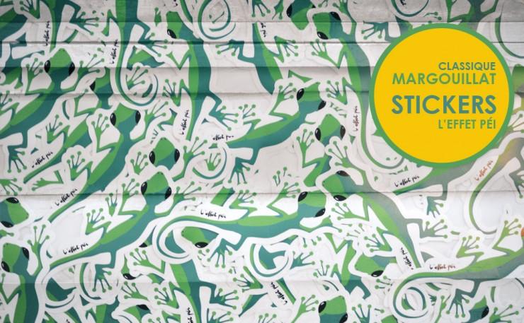 Stickers Margouillat L'effet Péi