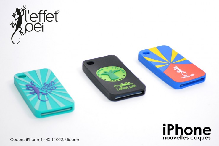 Coques iPhone silicone - L'effet Péi Réunion