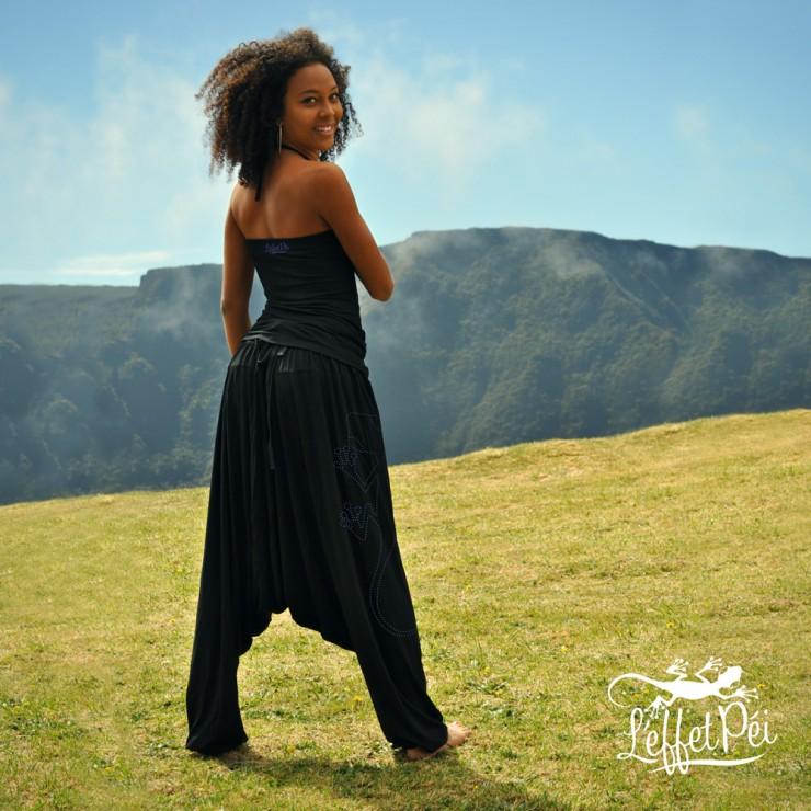 Sarouel et Top Noir Akina - L'effet Péi Réunion