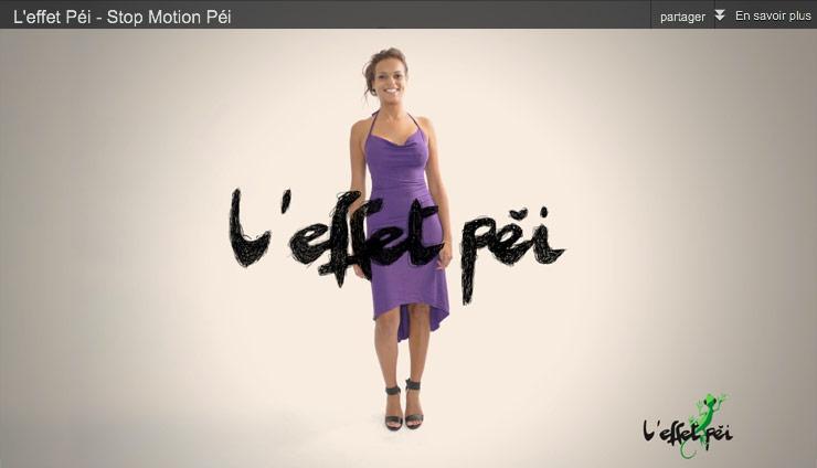 Vidéo Stop Motion Péi