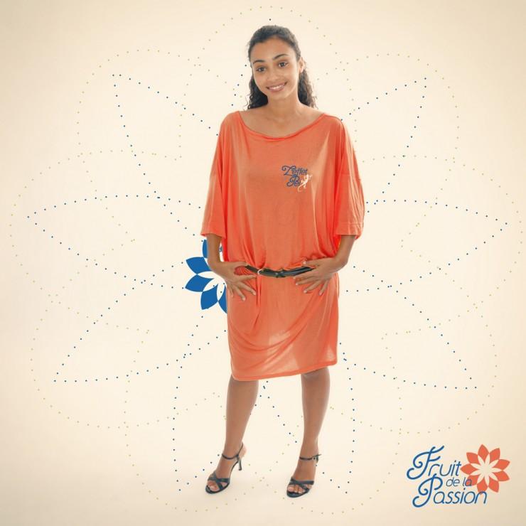 Robes Eloise - Orange - L'effet Péi
