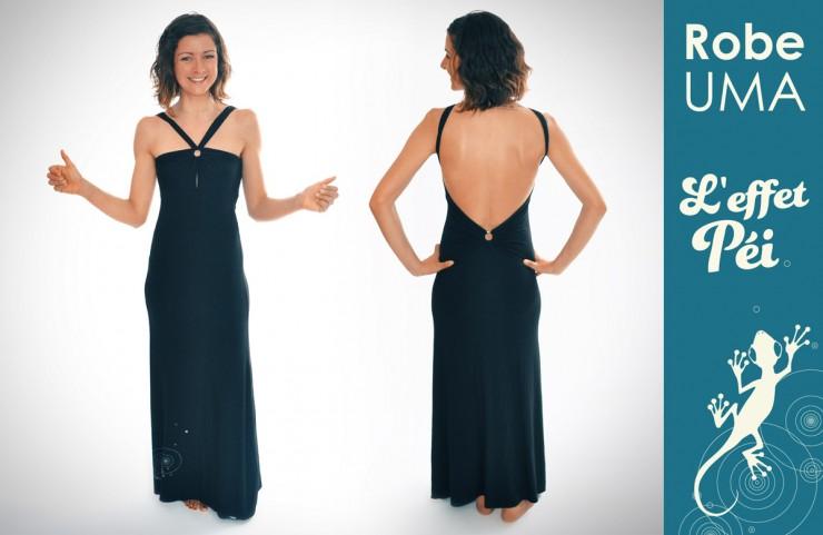 Robe longue Uma - L'effet Péi