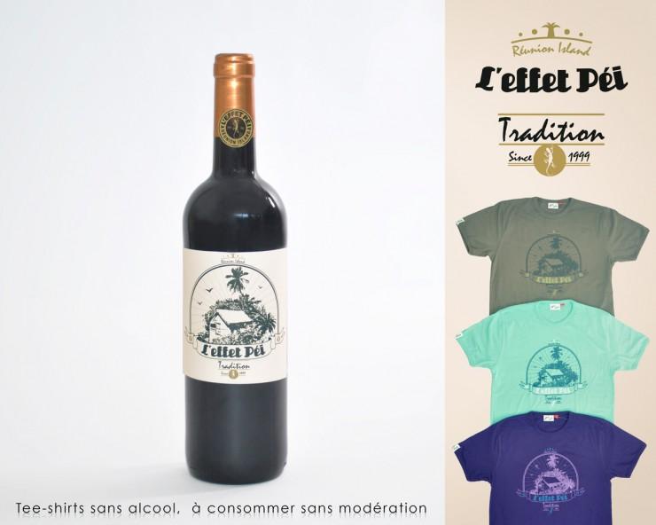 L'effet Péi Tradition - Bouteille de vin