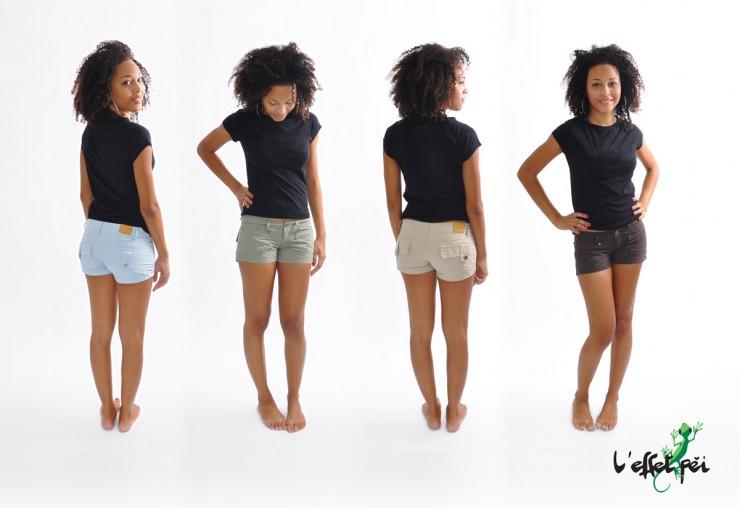 Shorts mini Daphné - L'effet Péi Femme