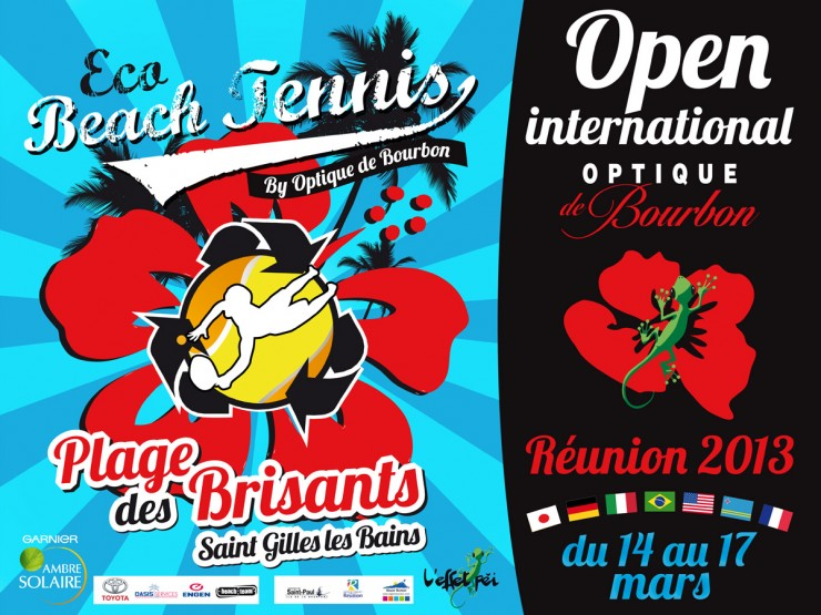 Eco Beach Tennis 2013 - Réunion