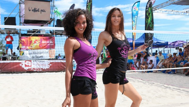 Collection Jump - L'effet Péi Sport - Défilé de mannequins à l' Éco Beach Tennis 2013