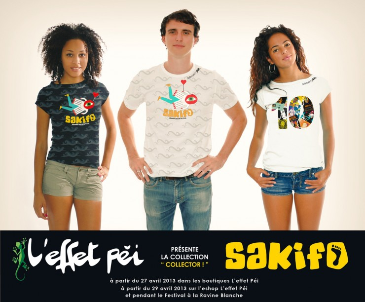 Collection de t-shirts du Sakifo 2013