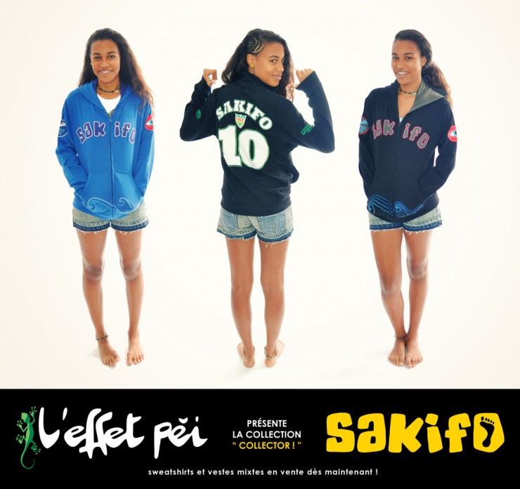 Vestes Sakifo L'effet Péi - 2013