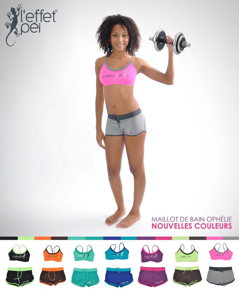 Maillot de bain sport Ophélie - De nouvelles couleurs disponibles