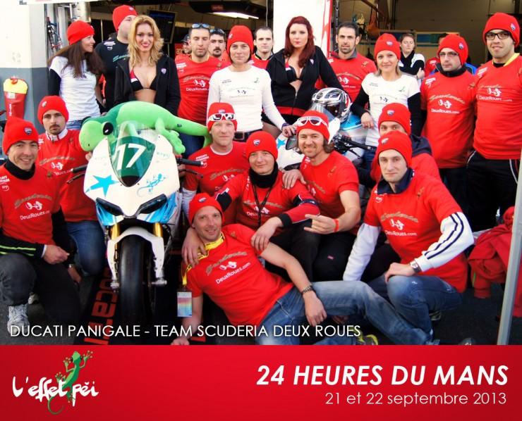L'effet Péi aux 24heure du Mans 2013 - Team Scuderia Deux Roues