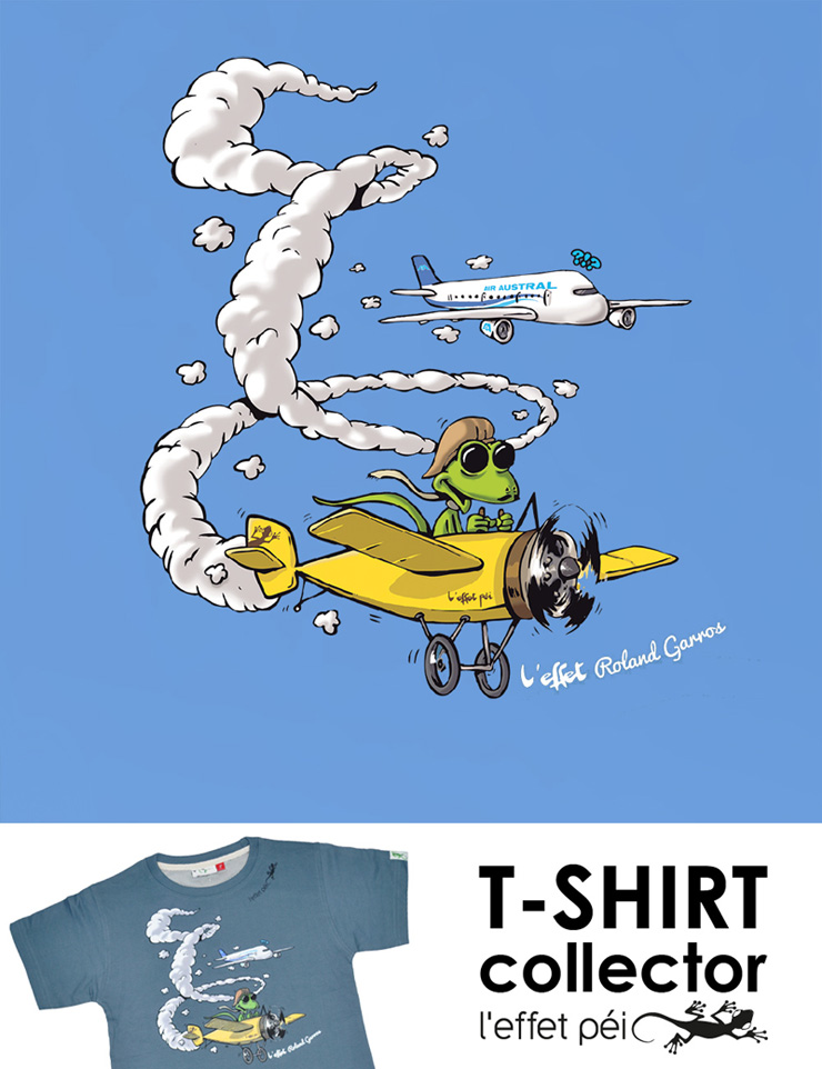 T-shirt enfant collector - L'effet Roland Garros