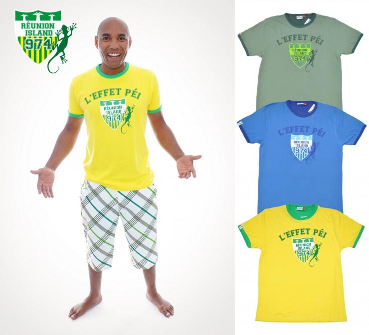 T-shirts Cusson - L'effet Péi 974