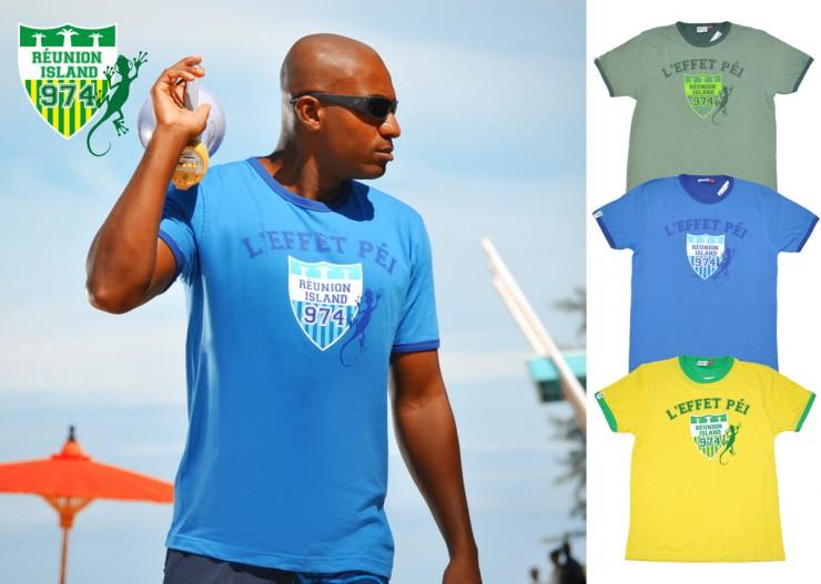 T-shirt Cusson Homme - L'effet Péi Réunion Island - 974