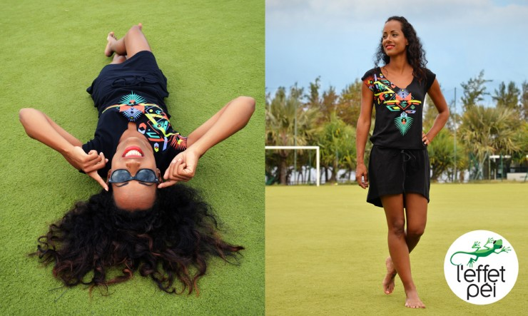 Tunique femme Aby Aztek - La Réunion