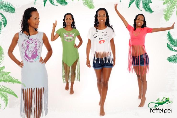 Place aux franges ! Nouveautés femme L'effet Péi - Mode in Réunion