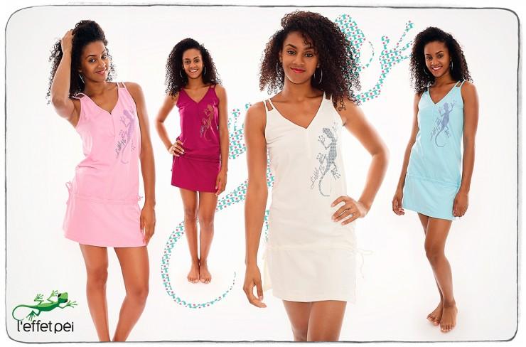 Tuniques Lacets Femme - Margouillat Cocotiers Pictos