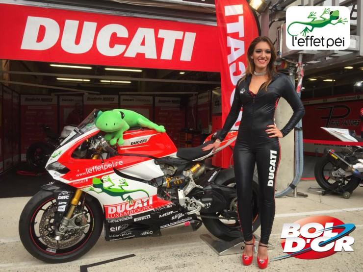 Ducati L'effet Péi - Scuderia Wants - en route pour le Bol d'Or 2015