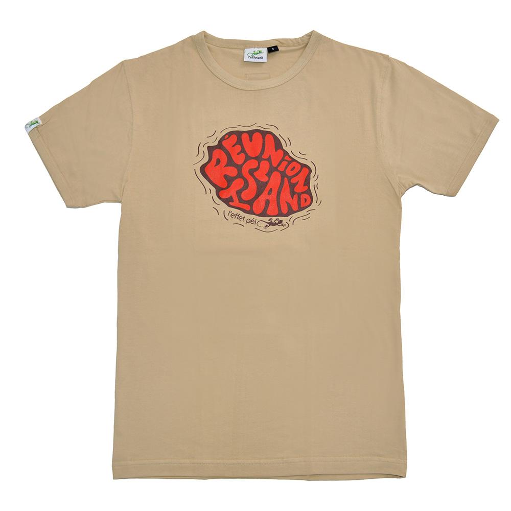 T-shirt Bubble Map - La Réunion