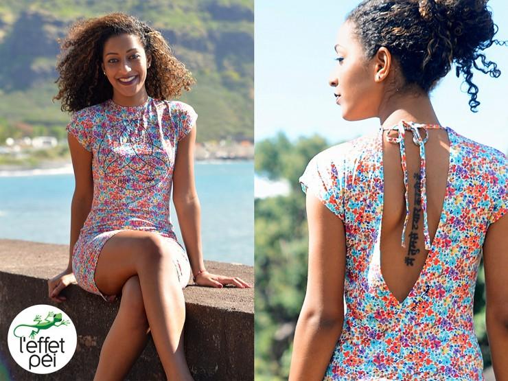 Noémie nous présente la robe dos nu Voimondo - Barachois Saint-Denis