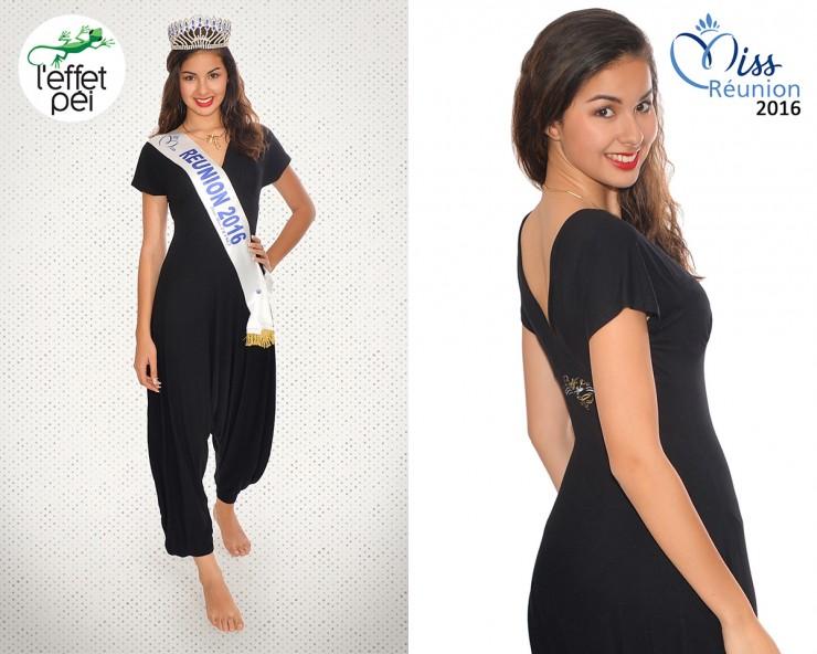 Ambre Nguyen Miss Réunion 2016 nous présente la combinaison Jumpy L'effet Péi