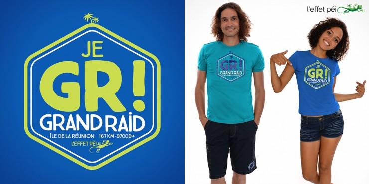 T-shirt Collector Grand Raid 2016 - Je GR!