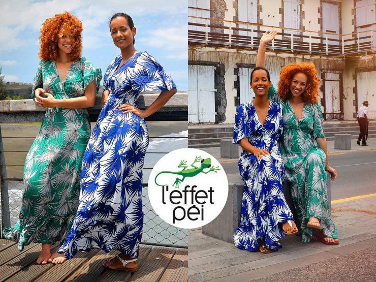 Robes longues Azalée - Saint-Paul île de la Réunion