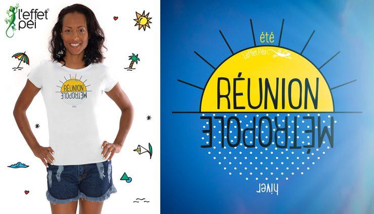 T-shirt Été Hiver - Réunion Métropole