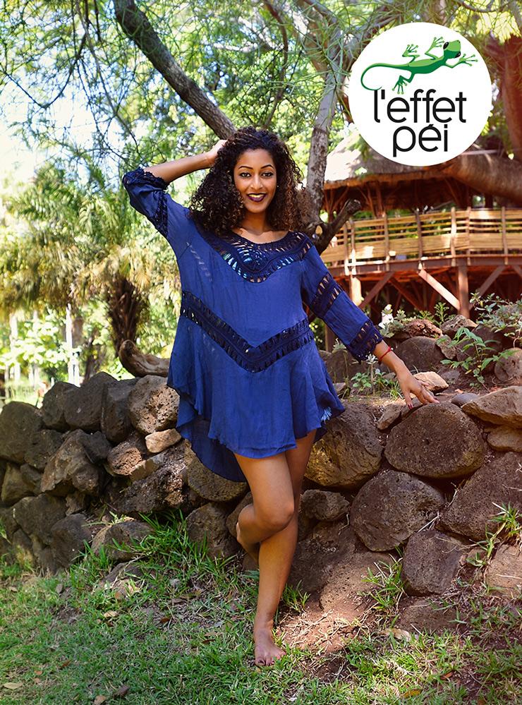 Tunique femme Aloe - Jardin de l'État - île de la Réunion