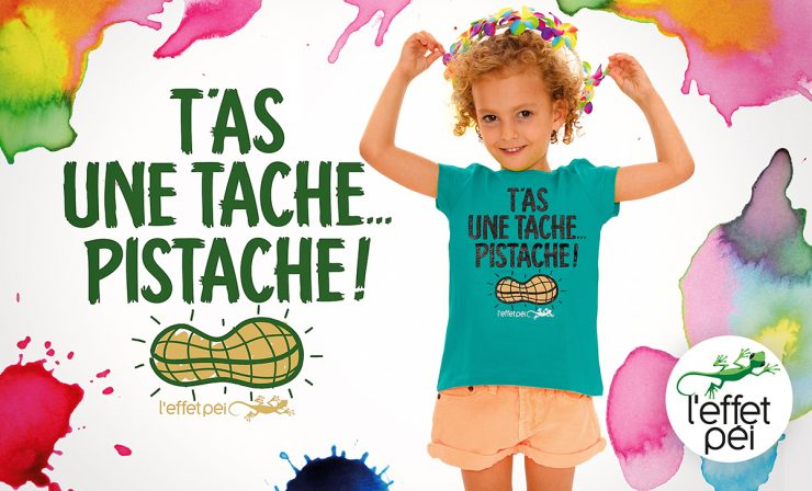 T-shirt Enfant - T'as une tache pistache