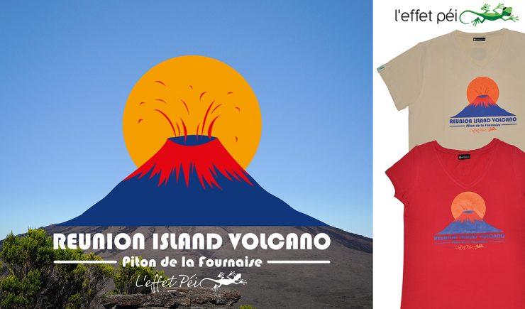 Réunion Island Volcan - Tee-shirts homme et femme