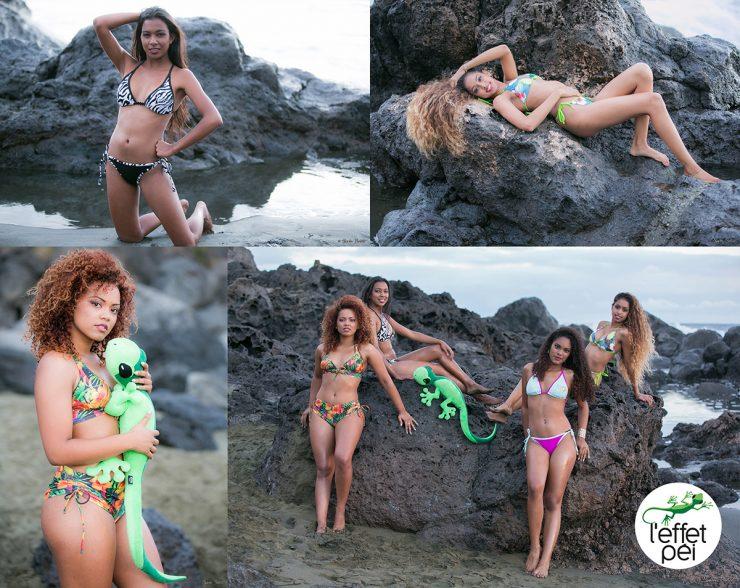 Les mannequins RJF & Co nous présentent les bikinis L'effet Péi