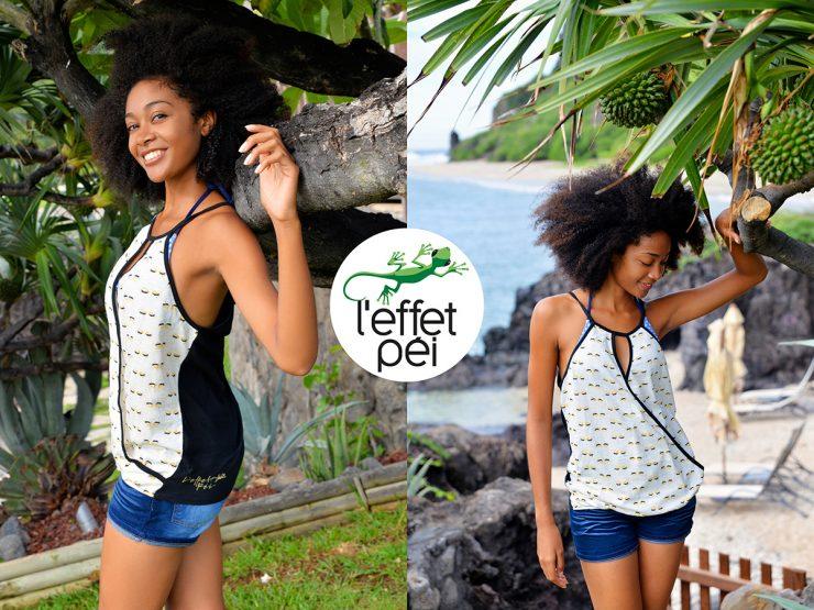 Top femme Glasse - Boucan Canot - île de la Réunion