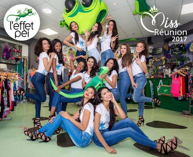 Les 12 candidates à l'élection de Miss Réunion 2017 - L'effet Péi Boucan Canot