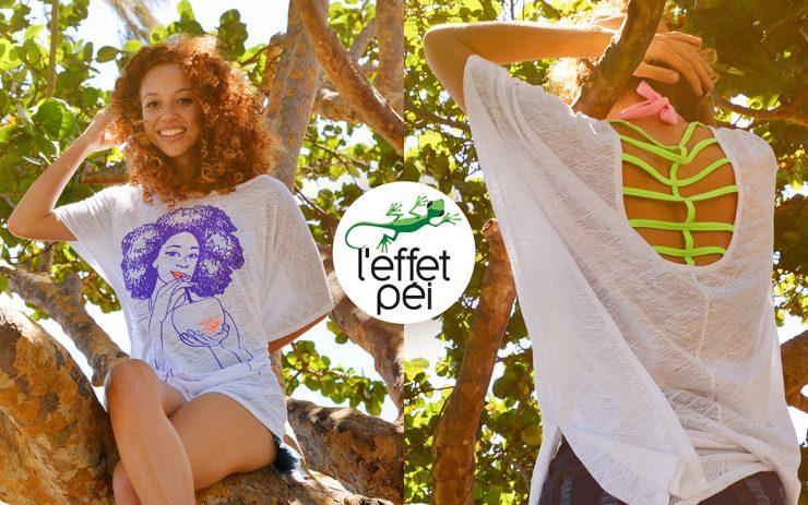Top Femme Yola Afro Coco - Arbre - île de la Réunion