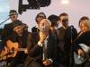 Yaourt Soul Experience sur la plateau de Canal+